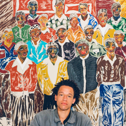 Antwaun Sargent Interviews Visual Artist Chase Hall