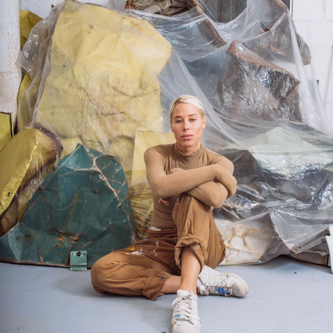 Artist Kennedy Yanko on Her Solo Show in Milan