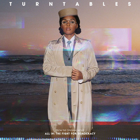"Janelle Monáe Shares a Powerful Visual for New Single, ""Turntables"""