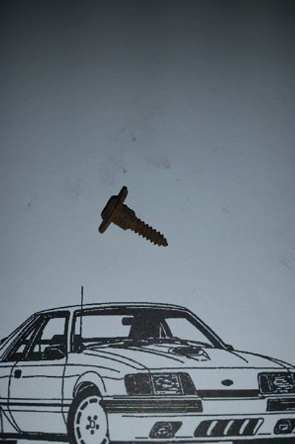 84-86 Mustang SVO side spat screw-used