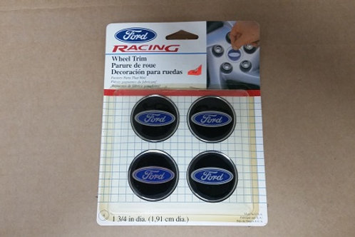 Ford Racing Wheel Trim center cap applique-New Old Stock