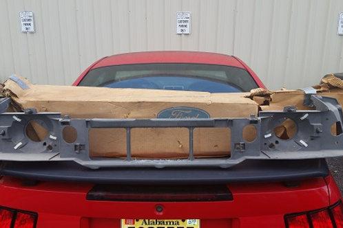 84-86 Mustang SVO Headlight Mounting Panel-NOS