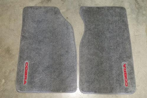 1993 SVT Cobra Floor mats-New Old Stock