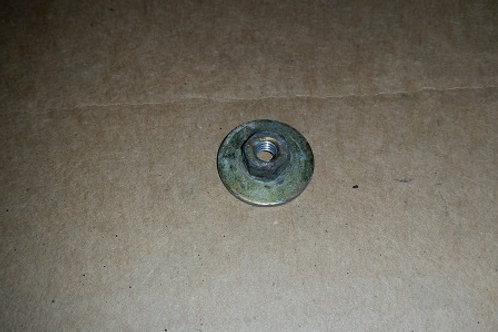 87-93 Mustang GT/Cobra rear ground effect mounting bracket nut-used