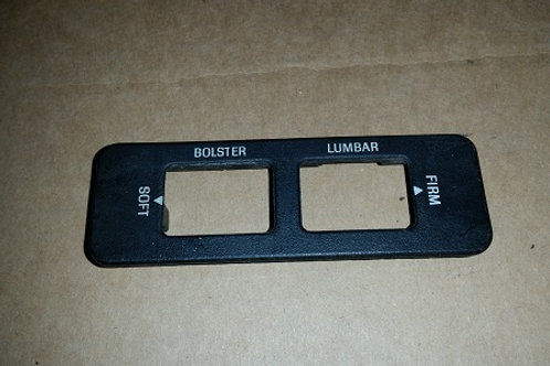 84-92 Lincoln Mark VII LSC Seat bolster switch trim panel-used