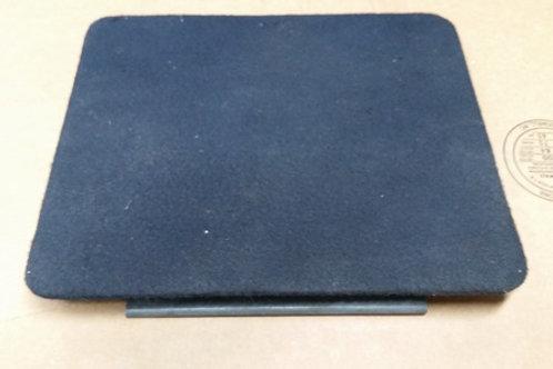 84-92 Lincoln Mark VII sunroof motor access panel-Blue-used