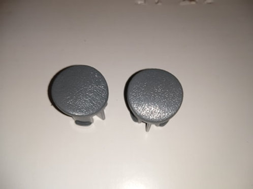87-93 Mustang Door armrest plug-LH-Gray-pair