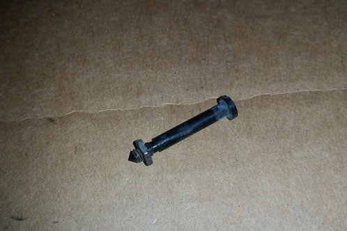 Marchal fog lamp lens screw with nut-used