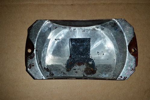 Marchal Fog lamp reflector-used