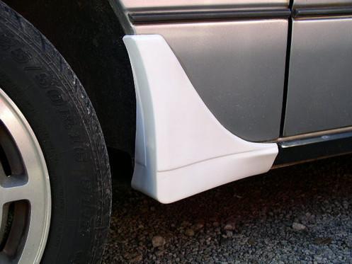 1984 86 Mustang Svo Side Spat Set Reproduction