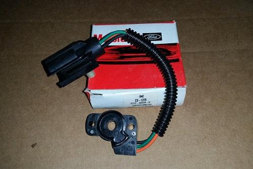 1987-96 Ford Truck 5.0/5.8 Throttle Position Sensor-NOS