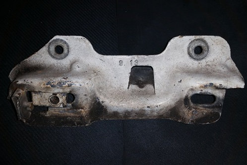 87-93 Mustang hood latch mounting bracket-used