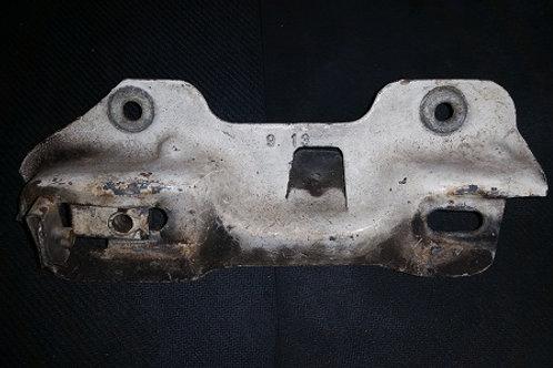 87-93 Mustang hood latch mounting bracket-used