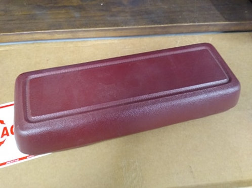 79-86 Mustang console armrest-red