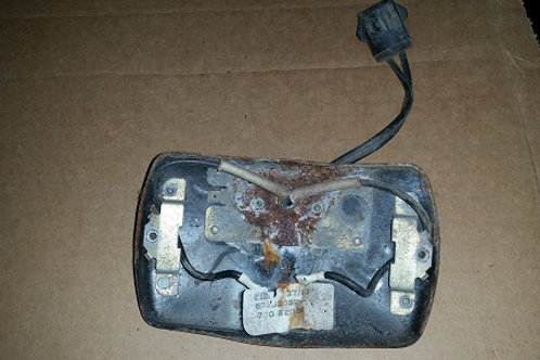 Marchal Fog lamp rear housing-used