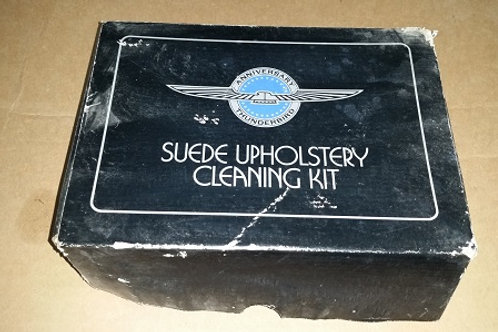 1990 Thunderbird Super Coupe Anniversary Edition Suede upholstery cleaning kit