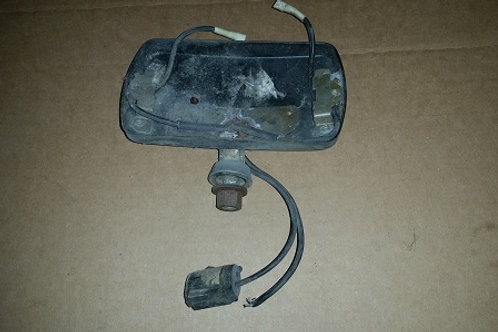 Marchal Fog Lamp rear housing and mount-used