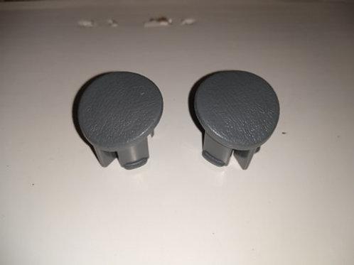 87-93 Mustang Door armrest plug-RH-Gray-Pair