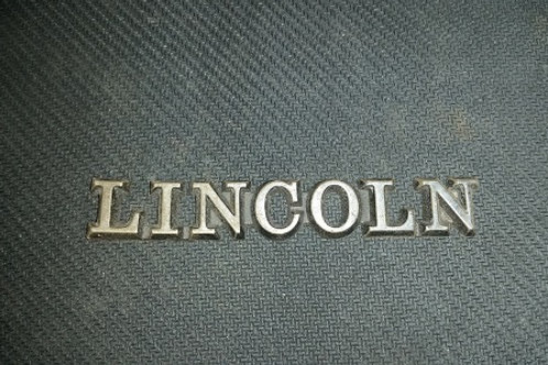 """84-92 Lincoln Mark VII """"Lincoln"""" nameplate-used"""