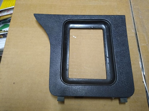 79-86 Mustang Console shifter bezel-automatic-used