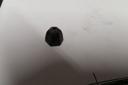 84-92 Lincoln Mark VII rear wheel molding retaining nut-used
