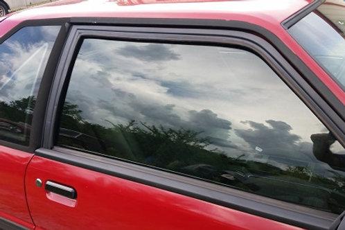 79-93 Mustang Door window channel run weatherstrip-LH