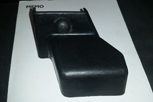 87-93 Mustang manual seat track cover-LR-used