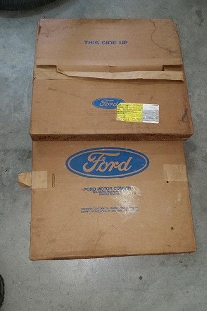 1975-91 Ford Van rear door weatherstrip-NOS-pair
