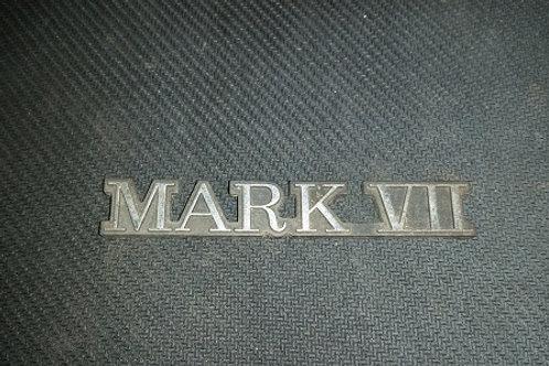 "84-92 Lincoln ""Mark VII"" nameplate-used"