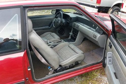 79-93 Mustang Door weatherstrip