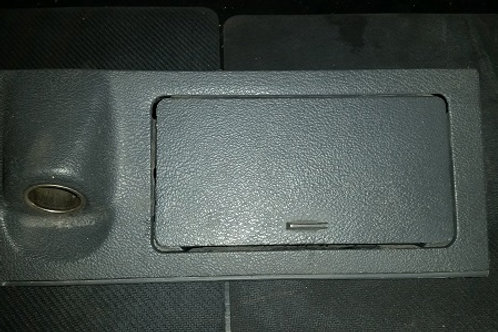 79-86 Mustang Console cigarette lighter/ash tray panel-used