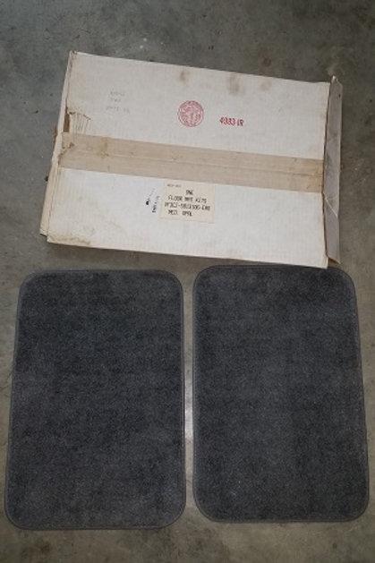 93 Cobra Med. Opal rear floor mat set-NOS
