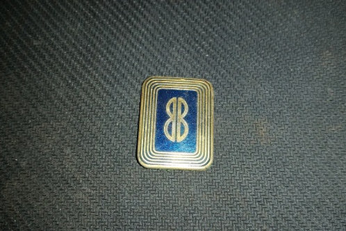 Lincoln Mark VII Bill Blass edition dash emblem-used