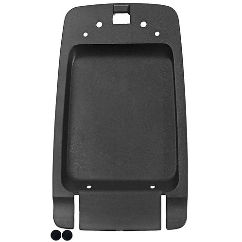 87-93 Mustang Console arm rest lid trim panel w/ rubber bumpers