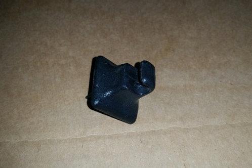 84-92 Lincoln Mark VII visor clip-black