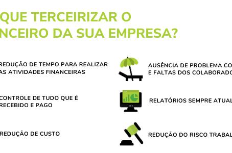 7 razões para terceirizar o setor financeiro de uma empresa