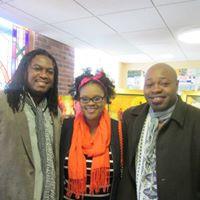 Artist Jabu and Mwelwa.