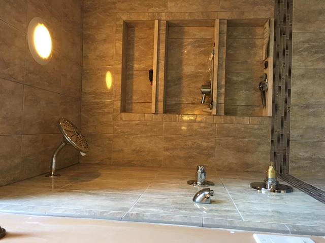 Bathroom Enclosure Remodel