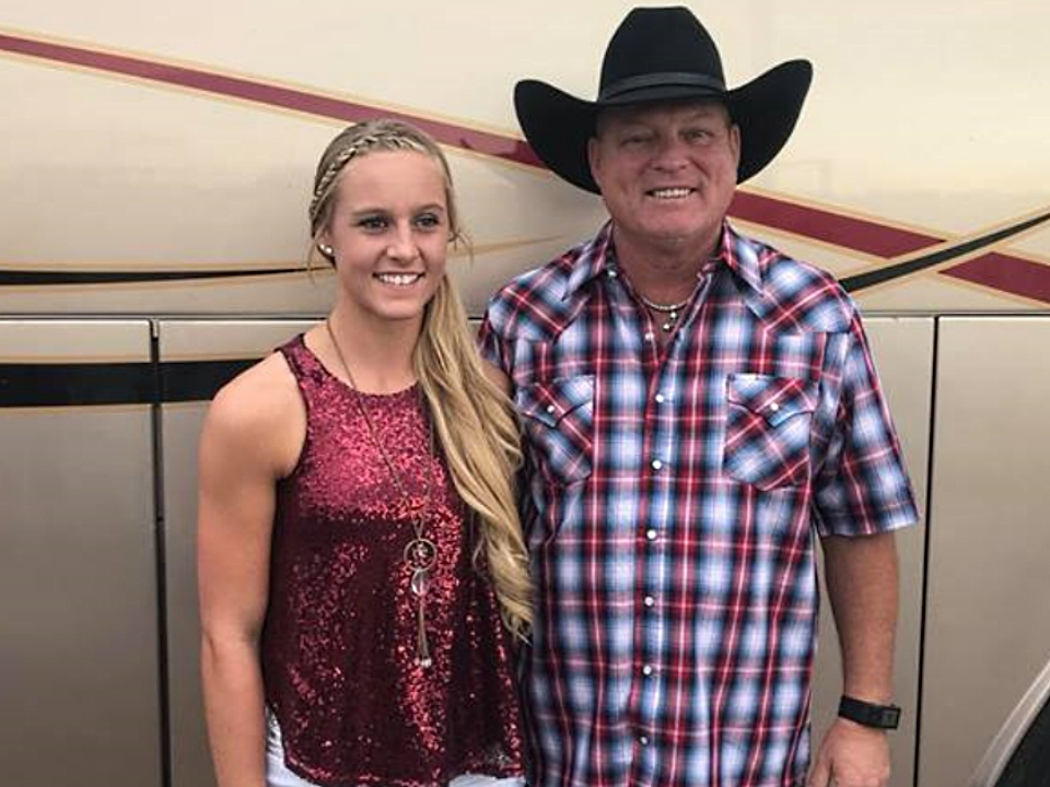Kenzie and John Michael Montgomery