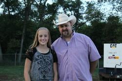 Kenzie and Daryle Singletary