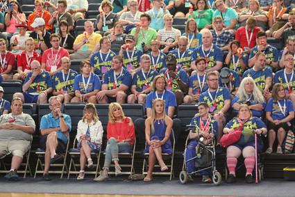National Anthem-Special Olympics Nebraska Opening Ceremonies (Gallery)