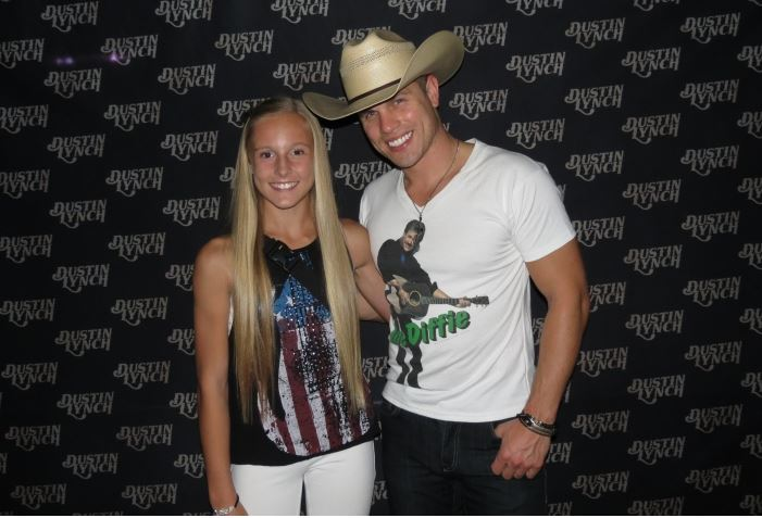 Kenzie and Dustin Lynch