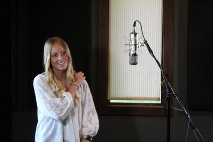 Recording Vocals at Darkhorse Recording Studio-Raven Room