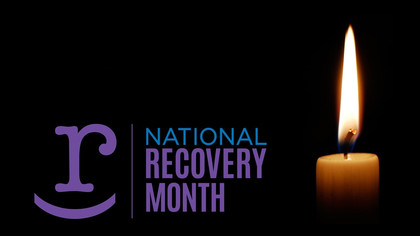 """National Recovery Month """"Recovery Is For Everyone"""""""