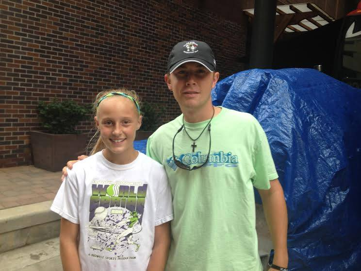Kenzie and Scotty McCreery