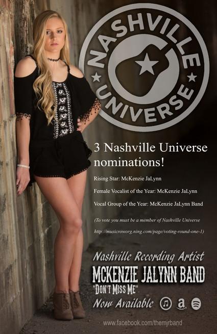 3 Nashville Universe Nominations!