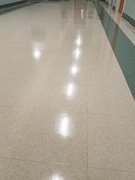 Waxed Floor