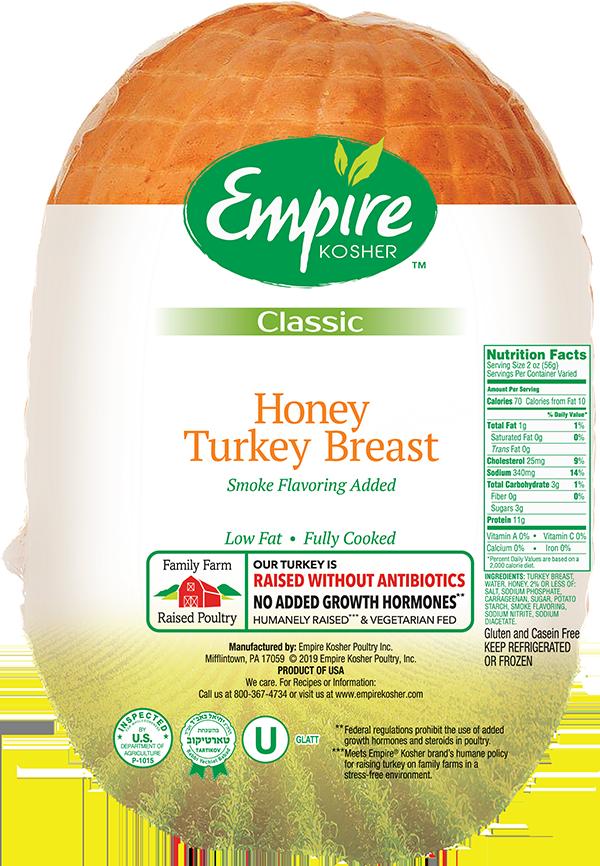 Honey Turkey Breast Empirekosherpoultry