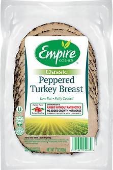 Peppered Turkey Breast - Slices