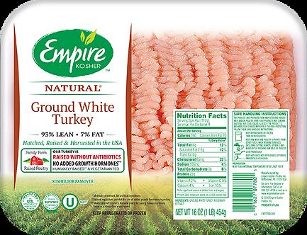 Ground White Turkey